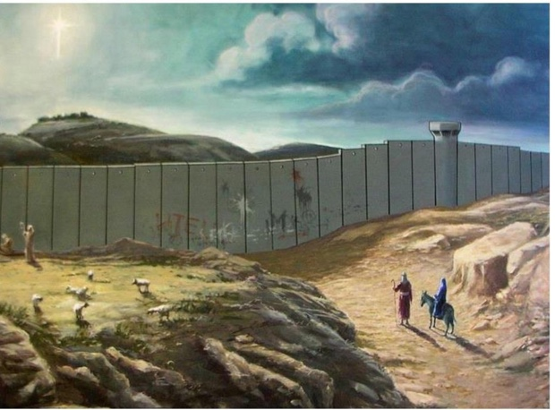 Banksy art - the truth of Palestine today